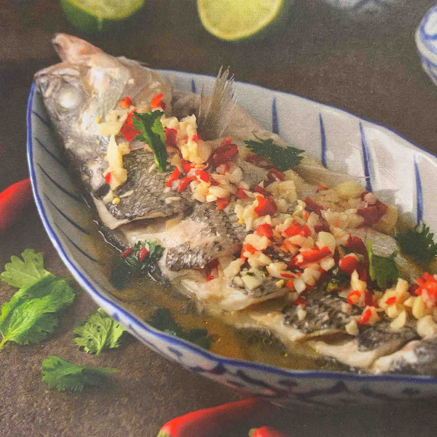 Thai Steamed Fish with Lime