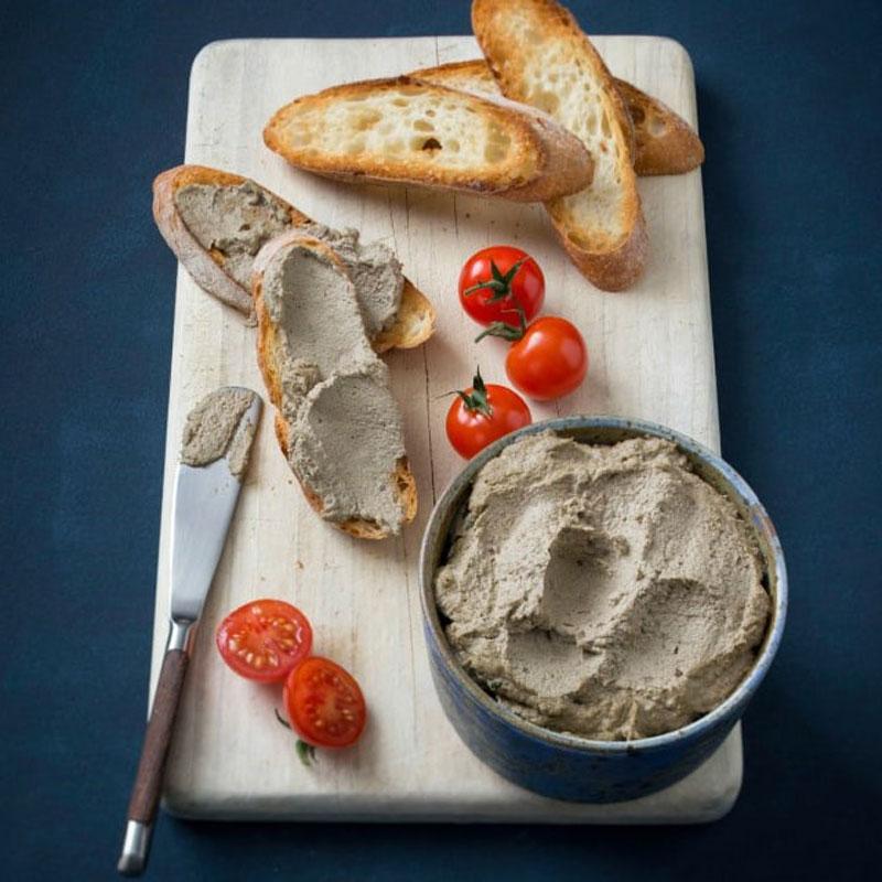 Thermomix nấu món chay: Pate nấm hạt