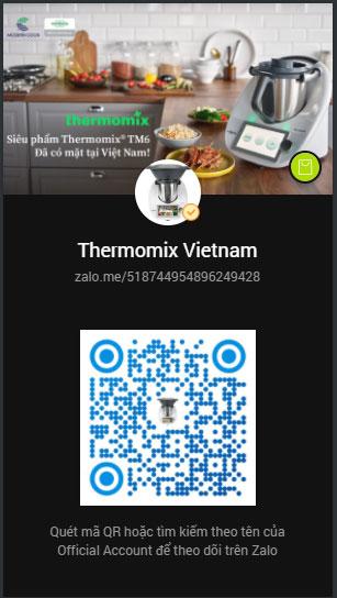 mã zalo của thermomix