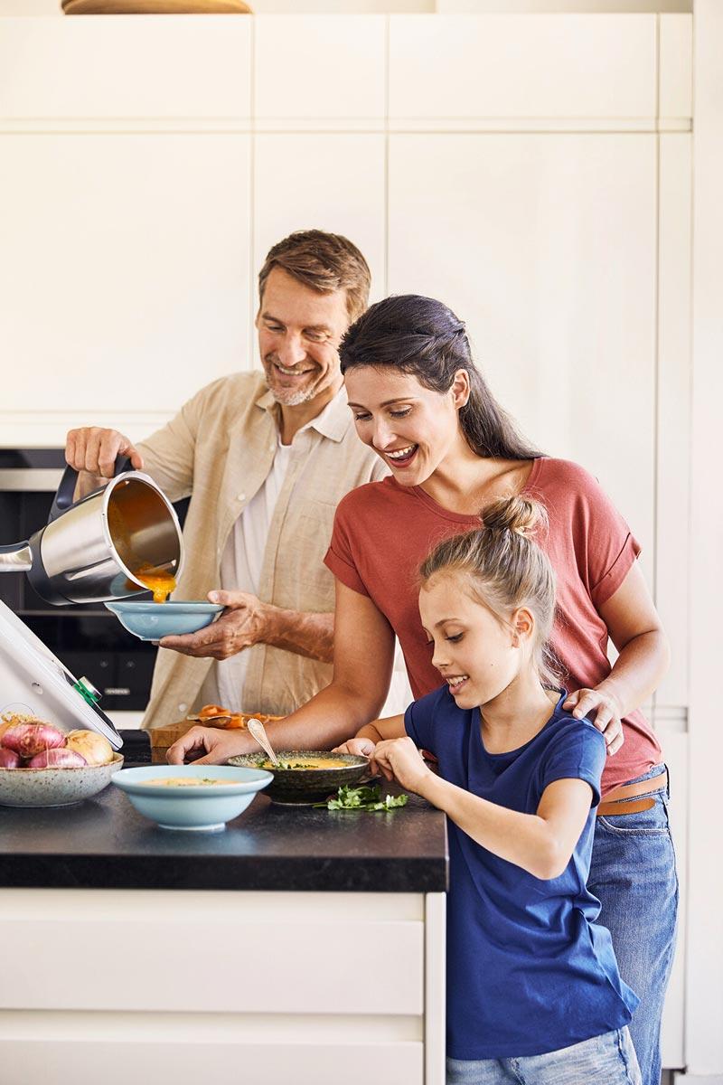 thermomix nấu ăn cùng gia đình