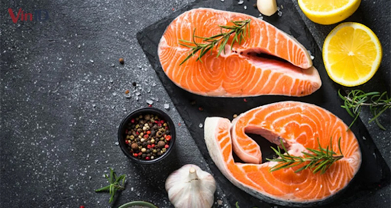 ăn cá hồi để sống lâu