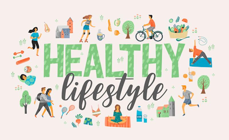 ăn uống và tập thể dục đều quan trọng với sức khỏe