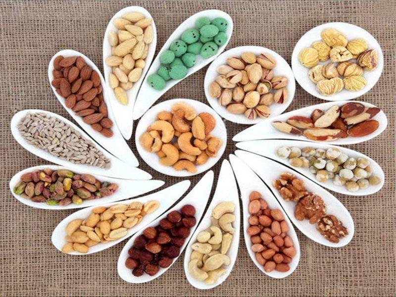 chế độ ăn uống lành mạnh: các loại hạt