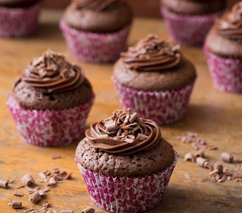 làm cupcake socola  bằng máy nấu ăn đa năng Thermomix.