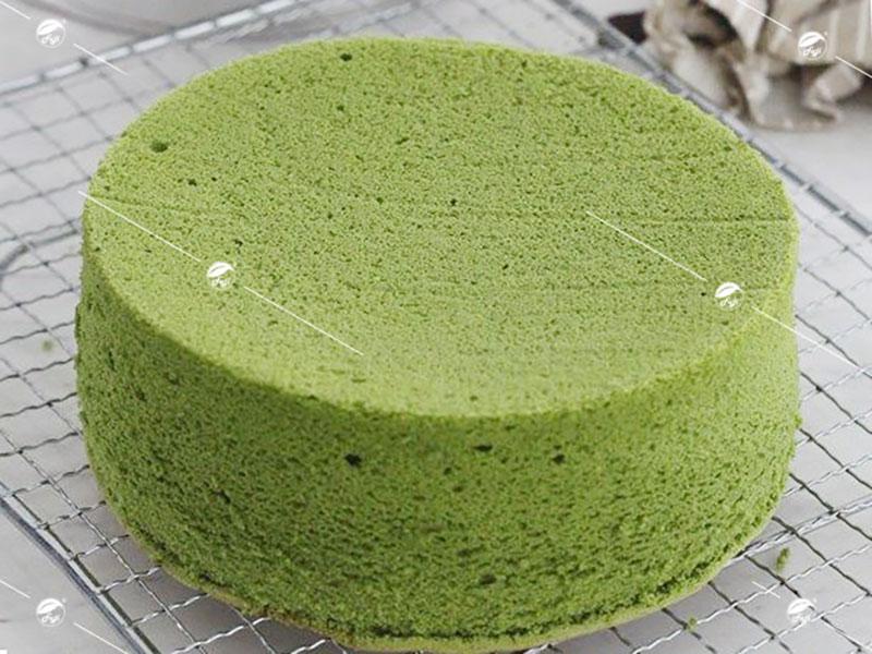Phần bạt bánh tiramisu trà xanh