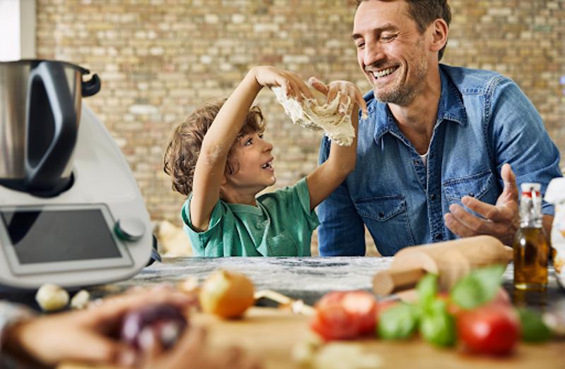 Trẻ em tự làm các bữa ăn lành mạnh