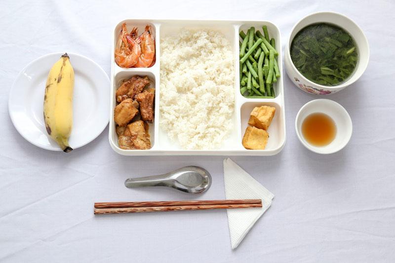 khẩu phần ăn của người Nhật