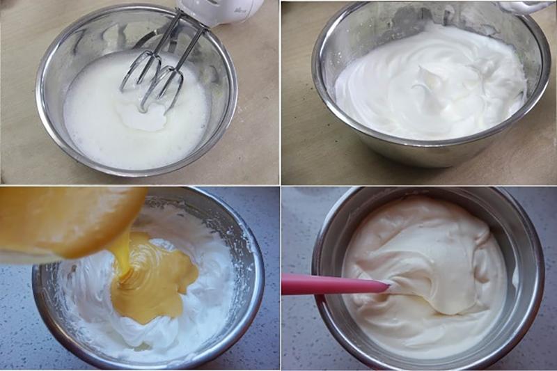Kỹ thuật trộn bột bánh bông lan