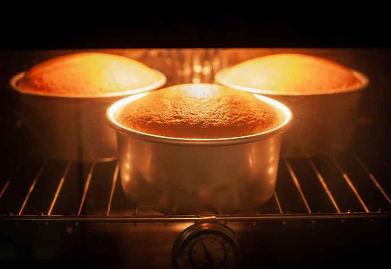 cách làm bánh bông lan tại nhà bằng lò nướng