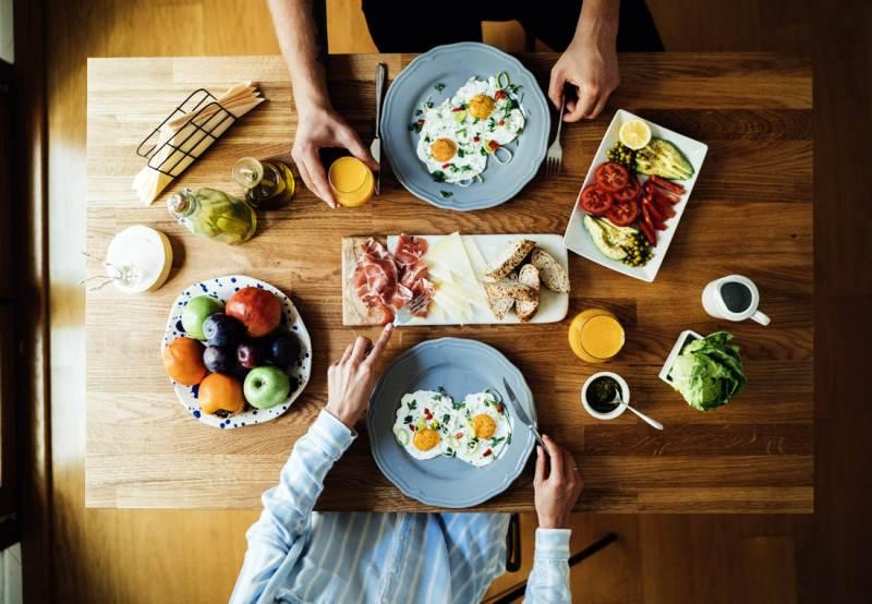 duy trì ăn sáng đều đặn