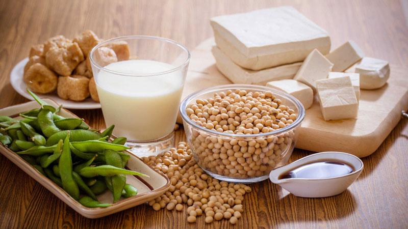 sử dụng các sản phẩm từ đậu nành