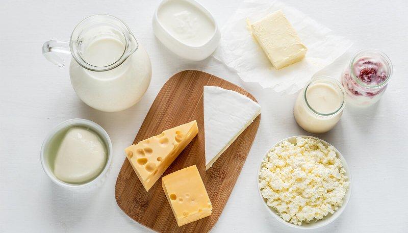 Sử dụng thực phẩm từ sữa tươi