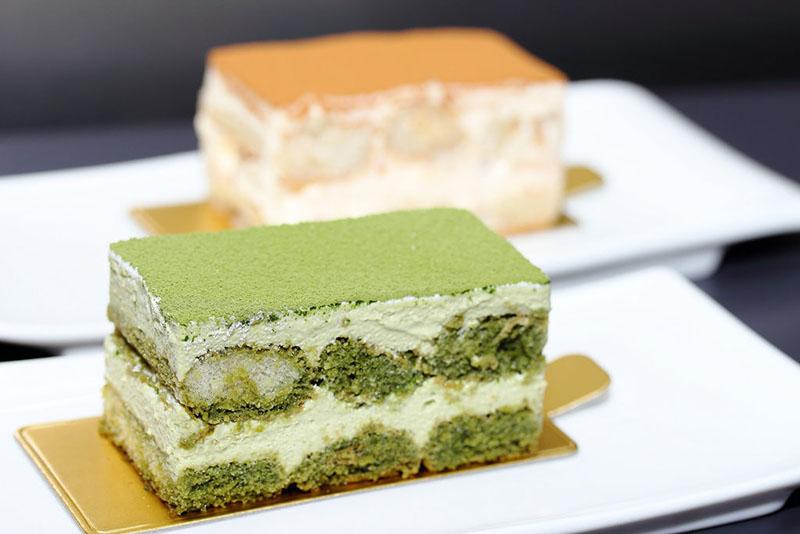 công thức làm bánh tiramisu chuẩn vị trà xanh