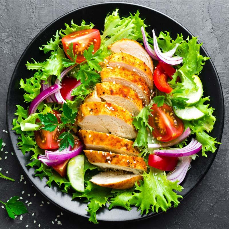 bữa ăn lành mạnh để giảm cân