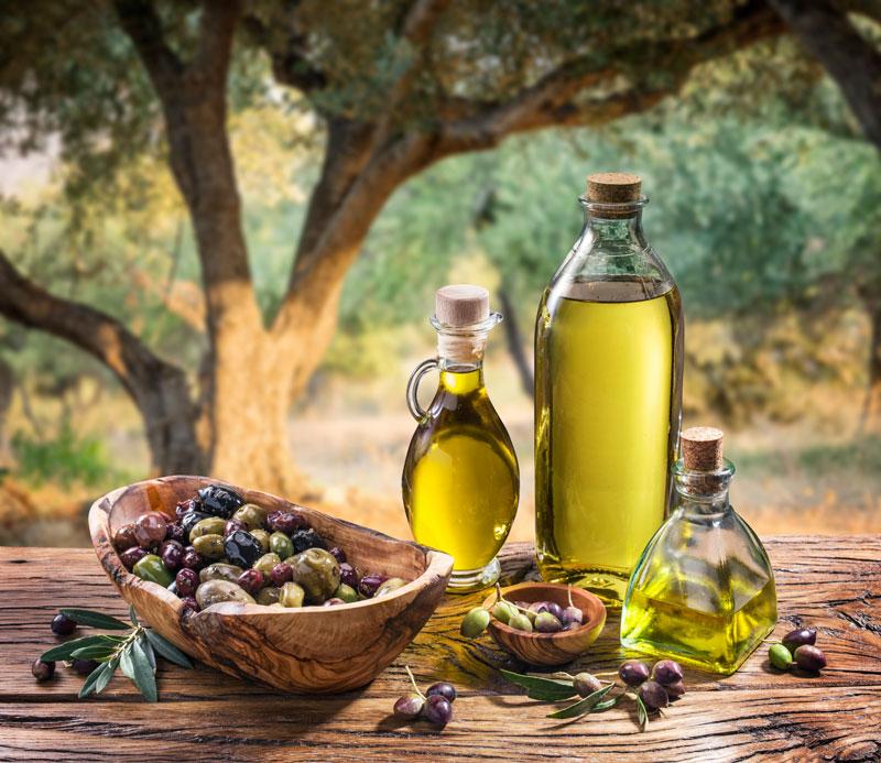 Dầu oliu theo chế độ ăn Địa Trung Hải