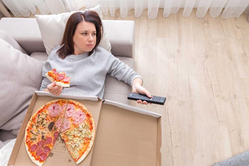 stress dễ gây béo phì