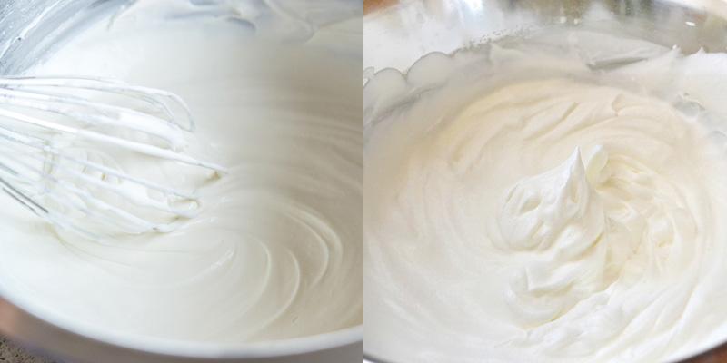 cách làm kem tươi bánh crepe cầu vồng