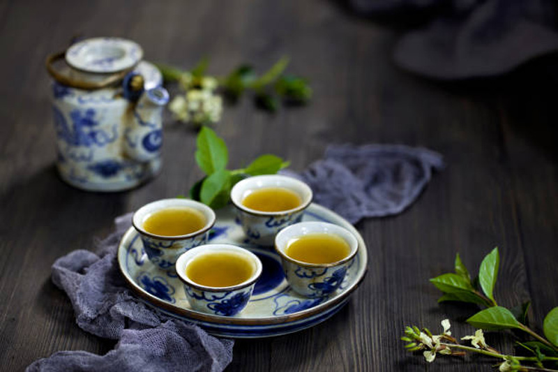 Nước trà xanh, thức uống đậm chất Á.